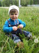 В этом году необычайно зеленая травка!