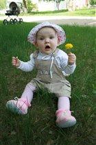 Ванесса с цветочком