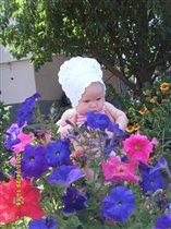 Цветочек в цветах
