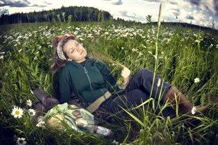 Отдых после полевых работ