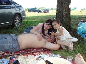 Папа, мама,я дружная семья!