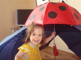 а мой зонт самый веселый