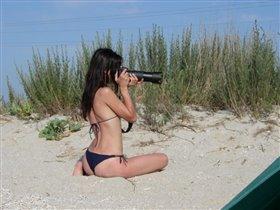 Фотоохота на песчаных ящериц!:)