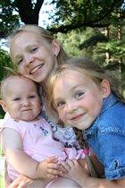 Три счастливые девчёнки!!!