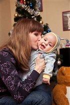 самый крепкий и нежный поцелуй-это мамин поцелуй!