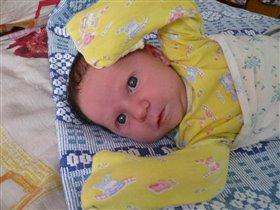 новорожденная моя девочка