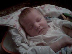 Сладкий сон нашей принцессы!!!