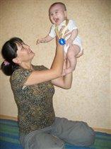 Большое счастье в маминых руках
