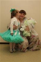 моё МАЛИНОВОЕ Счастье - две дочурки!!!