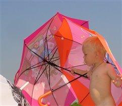 Жонглирование зонтиками