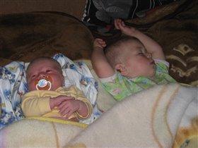 Вот как мы спим