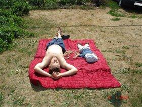 Мы на солнышке лежим