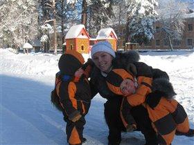 Мои оранжевые лучики счастья в морозы