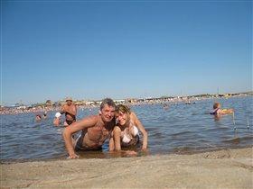Я с любимой на отдыхе)))