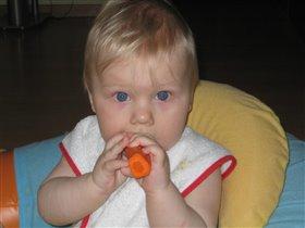 Морковка! Я тебя сьем!