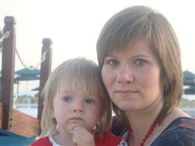Мамина дочечка...:)))