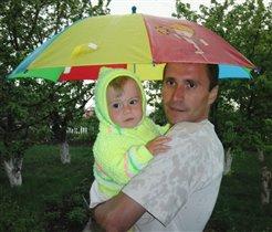Цыпленок под зонтом