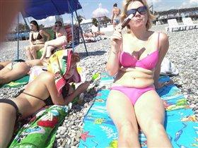 Море, солнце и ... мороженое
