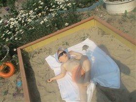Я на солнышке лежу и на солнышко гляжу))