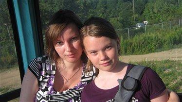 Мама и дочка Маргарита