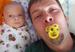 Илья и я.