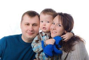 Мама, папа, я -  вот такая у нас похожая семья!!!