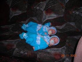 Мои девочки Милиса и Элла -1 месяц