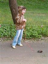 Наш Нюха на прогулке (Весна 2010