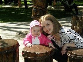 Я и мама в парке