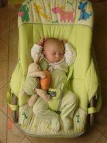 Спят усталые зайчата...