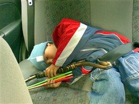 спит усталый Илюша