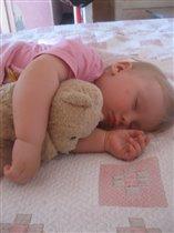 Мое солнышко спит...
