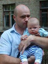 С сынулей