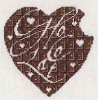 сердечко шоколад