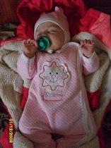 Вот как сладко сплю с любимой соской!!!