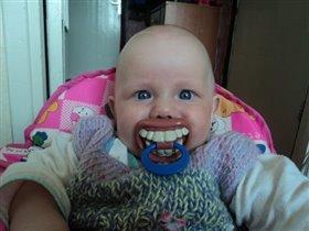 у меня тоже уже есть зубы!!