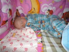 В любимой постельке