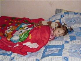 Сладкий сон с любимой игрушкой