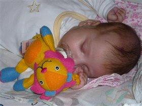 Сладких снов доченька