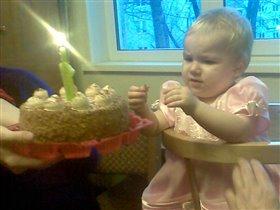 Мой первый тортик!!!