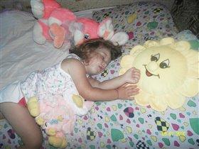 спит зайка моя
