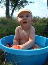 Мое первое лето и мой первый пруд)))