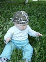 Я на травке посижу и травинку изучу!