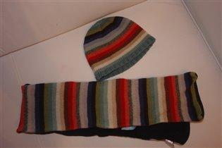 шапка + шарф Accessories ОГ 50-52см