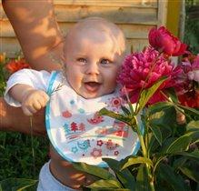 Первые цветы, первое лето Я и сама первенец!!!