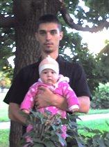 Аня с папой