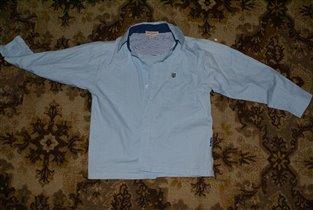 рубашка -100% хлопок-р 116