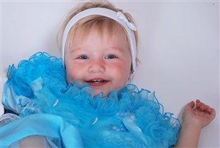 Белоснежная улыбка моей принцессы!