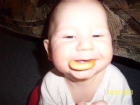 первым зубом-первую сушку