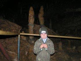 В пещере, Новый Афон